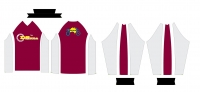 Maroon Riding Jersey